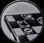 Emblem 25mm Mühle, silber