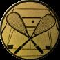 Emblem 25mm Squash, gold