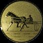 Emblem 50mm Traber, gold