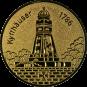Emblem 50 mm Kyffhäuser, gold