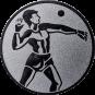 Emblem 50mm Ballwerfer, silber