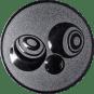 Emblem 50mm Boccia, silber