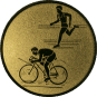 Emblem 50mm Duathlon, gold
