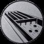 Emblem 50mm Jakkolo, silber
