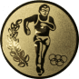 Emblem 50mm 2 Laeufer am See, gold