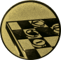 Emblem 50mm Mühle, gold
