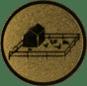 Emblem 25mm Tiergehege, gold