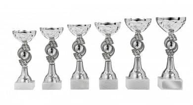 Pokale 6er Serie S137 silber