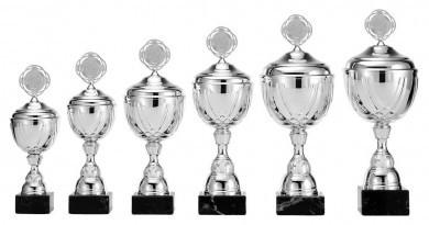 Pokale 6er Serie S373 silber