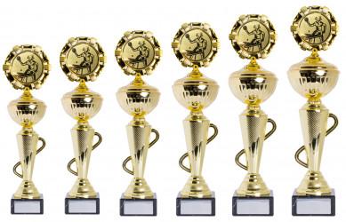 Pokale 6er Serie S412 gold