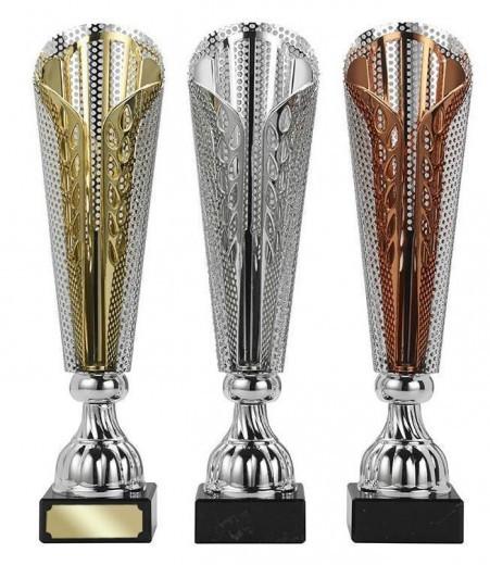 Pokale 3er Serie S406 35cm gold