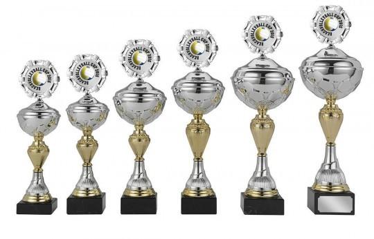 Pokale 6er Serie S420 silber/gold 28cm