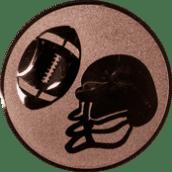 Emblem 25mm Football, bronze