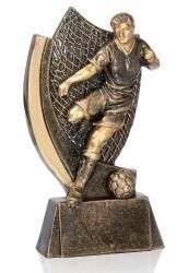 Fußballer mit Ball FS16915