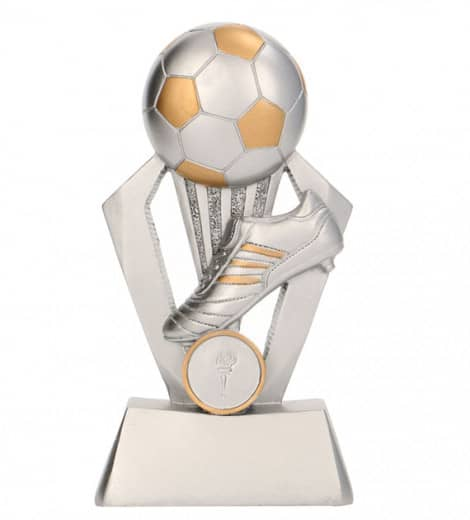 Fußballpokale 3er Serie TRY-RP800 silber gold 12,5cm