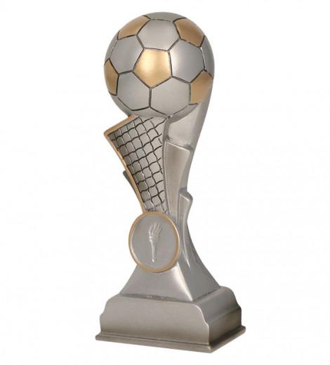 Fußballpokale 5er Serie TRY-RP100 silber gold 16,5cm