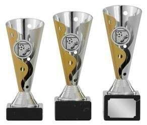 SALE: Pokale 3er Serie S436 gold/silber