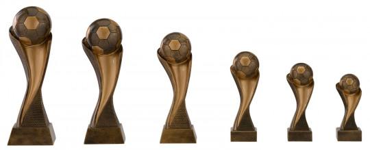 Fußballpokal 6er Serie C156 14,5cm