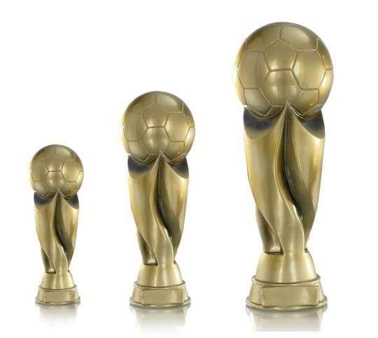 Fußballpokale 3er Serie FS1370 20cm