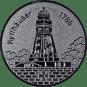 Emblem 25 mm Kyffhäuser, silber