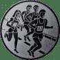 Emblem 25mm 4 Laufer, silber