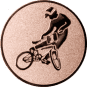 Emblem 25mm BMX, bronze
