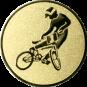 Emblem 25mm BMX,  gold