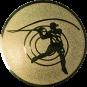 Emblem 25mm Casting,  gold