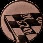 Emblem 25mm Mühle, bronze