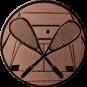 Emblem 25mm Squash, bronze