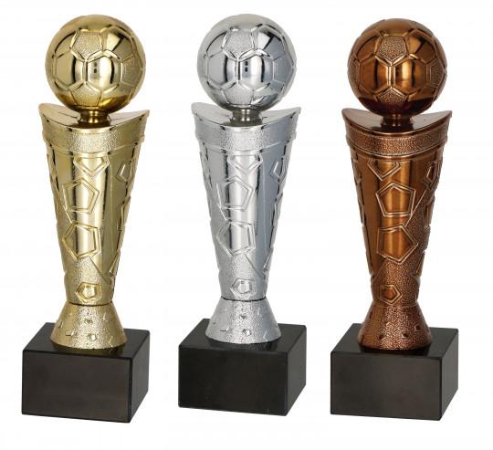 Pokale 3er Serie TRY9061 18cm gold