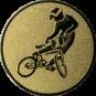 Emblem 50mm BMX, gold