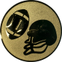 Emblem 50mm Football, gold