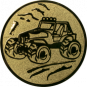 Emblem 50mm Gelände-Buggy, gold