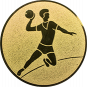 Emblem 50mm Handball Werfer, gold