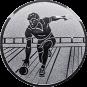 Emblem 50mm Kegler M2, silber