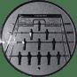 Emblem 50mm Kickertisch, silber