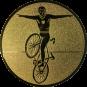 Emblem 50mm Kunstrad, gold