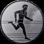 Emblem 50mm Laeufer, silber