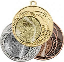 "Medaille ""Dion"" Ø 40 mm inkl. Wunschemblem und Kordel"