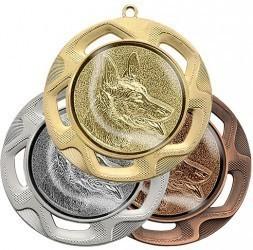 """Medaille """"Doriskos"""" Ø 70 mm inkl. Wunschemblem und Kordel"""