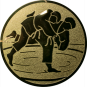 Emblem 50 mm Judo, gold