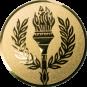 Emblem 50 mm Siegesfackel, gold