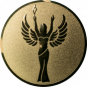 Emblem 50 mm Siegesgöttin, gold