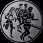 Emblem 50mm 4 Laufer, silber
