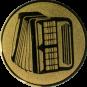 Emblem 50mm Akkordeon 2, gold
