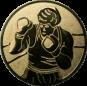 Emblem 50mm Boxer, gold