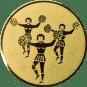 Emblem 50mm Cheerleader, gold