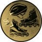 Emblem 50mm Inlineskate, gold