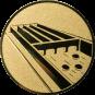 Emblem 50mm Jakkolo, gold